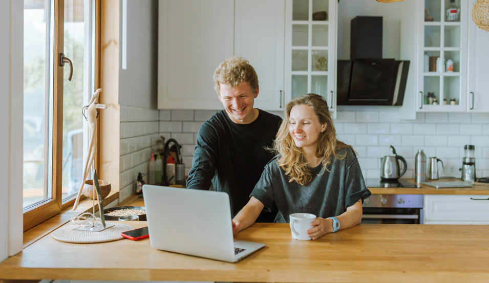 couples planning for a business